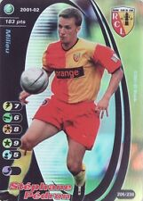 FOOTBALL CHAMPIONS 2001-02 Stéphane Pédron 205/230 Racing Club de Lens FOIL