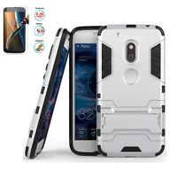 Rugged Shockproof Armor Hybrid Rubber Hard Phone Case Cover For Various Motorola