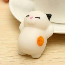 Soft Kawaii Colorful Cat Squishy Healing Squeeze Kids Toys Stress Reliever #B