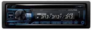 Alpine CDE-205DAB Autoradio CD MP3 USB Bluetooth DAB+ 1DIN Freisprecheinrichtung