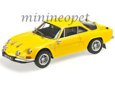 KYOSHO 08484 Y RENAULT ALPINE A110 1600S 1/18 DIECAST MODEL CAR YELLOW
