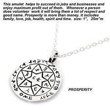 Silver Kabbalah King Solomon  Amulet Prosperity or Livlihood