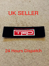 1 TRD seat belt cover IS200 COROLLA TOYOTA LEXUS MR2 CELICA AVENSIS