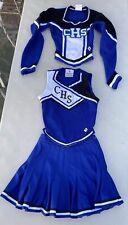 """3 Piece Cheerleader Cougars High School Uniform, Size 32, 25"""" waist"""