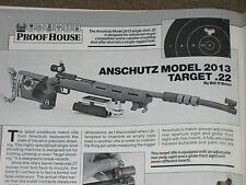 GUNS & AMMO TEST COLT 1991A1, TAURUS 66, RUGER 77 EXPRESS, ANSCHUTZ 2013