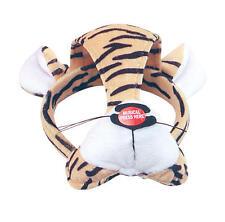 TIGER FACE MASK & Sound Animale Costume Vestito Nuovo