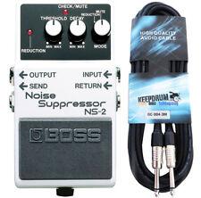 Boss ns-2 Noise oncogène + Guitare-Câble