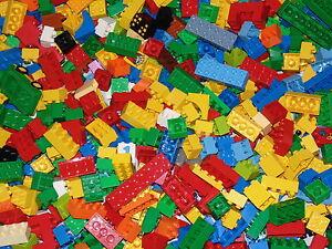 DUPLO Bricks LEGO 500g Bundle Random Assorted Parts Pieces 1/2kg Building Blocks