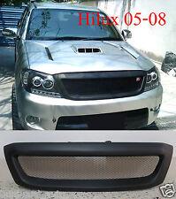 Front Grille Black Net TRD For Toyota Hilux Pickup Kun Sr5 Mk6 Vigo 2005-2008