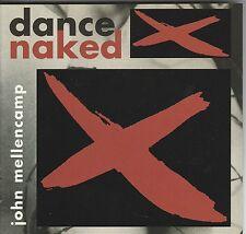 cd M2  JOHN COUGAR  MELLENCAMP DANCE NAKED USA censored cover