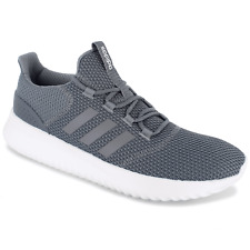 Mens Adidas NEO Cloudfoam Ultimate Grey Sneaker Athletic Shoes B43843 Sz 8 & 9.5
