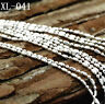 "5PCS 16-30"" 925 Silver Jewelry Ball Necklace Chains Pendant Findings Jewelry"
