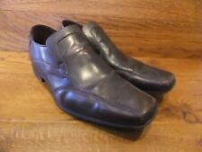 Mens Base London Sphere Brown Leather  Slip On Shoes Size UK 10 EUR 44