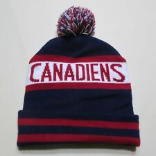 NHL MONTREAL CANADIENS FAN CLUB BEANIES WINTER HAT TOQUE TUQUE HABS