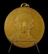 Médaille Unesco Cathago Carthage Tunisie  par Tschudin 58 mm 112 g Medal