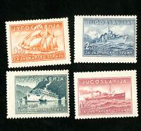 Yugoslavia Stamps # B90-3 XF OG NH