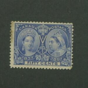 1897 Canada Postage Stamp #60 Mint Hinged F/VF Original Gum
