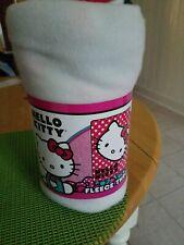 Hello Kitty Fleece Throw  45 x 60 Children/ Toddler BNIP