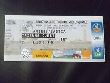 Entradas - 2007 Amiens V Bastia, 6 de noviembre, campeonato de fútbol