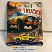 Subaru Brat * 2018 Hot Wheels SHOP TRUCKS Car Culture D Case * WC19