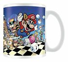 Super Mario Bros. Tasse/Mug >> FLYING MARIO << Keramik, weiß, 300ml - NEU & OVP