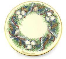 New listing Lenox Colonial Christmas Wreath Annual Limited Edition #4 1984 Rhode Island Usa