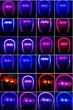 Car Auto Gear Shift Knob LED Light Multi Color Touch Activated Sensor For jeep