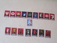 Match Attax 2012/2013, Clublogos, Matchwinner, Starspieler , 2 aus 17 aussuchen