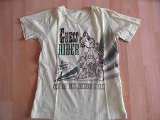 GUESS schönes Shirt mintgrün Motorrad Strass Gr. 12 J TOP  03-14