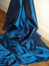 "3M METALIC BLUE  TAFFETA  FABRIC 58"" WIDE"