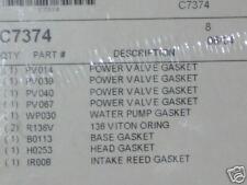 Kawasaki KX250 KX 250 Top End Gasket Kit