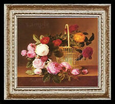 Roses Miniature Dollhouse Doll House Picture