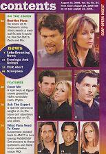 Soap Opera Digest Magazine - August 22, 2006 - Gina Tognoni, Brandi Burkhardt