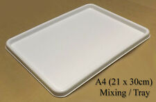 3 x Large Quality A4 Inking / Printing / Rolling / Mixing Paint Tray / Palette