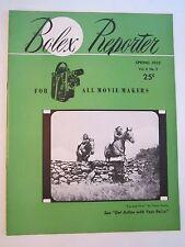 1952 BOLEX REPORTER MAGAZINE - SPRING EDITION - SEE PICS - TUB QQQ