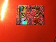 Michael Jordan 1995-96 skybox nba hoops all time rookie team top 10 #ar7
