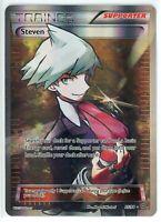 Pokemon XY Ancient Origins Steven Full Art Trainer Ultra Rare Holo 95/98