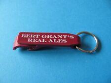Bert Grant's Scottish Ale, Yakima Brewing Company, Key Ring & Bottle Opener. USA