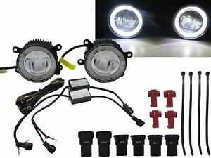 MERIVA 2003-2010 DRL LED GLASS Fog Light Lamp for VAUXHALL