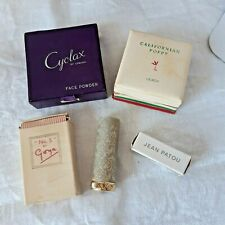More details for lot of vintage collectable cosmetics, *wartime packaging*