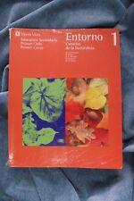 Libro Ciencias de la Naturaleza. Entorno. 1996