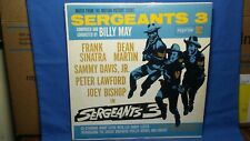Billy May  Sergeants 3  Music From The Motion Picture  Rare 1961 Reprise Pop Lp