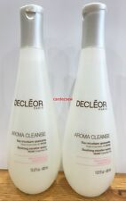 Decleor Aroma Cleanse SOOTHING MICELLAR WATER CLEANSER 400ML X 2 = 800ML  NEW