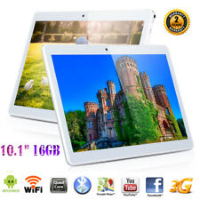 "16GB 10.1"" Zoll IPS TABLET PC Netbook QUADCORE ANDROID 6 2*SIM/CAM 3G+WIFI GPS"