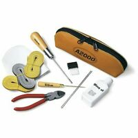 Wilson A2000 Glove Care Repair Tool Kit w/ Leather Carry Bag