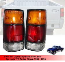 1 Pair Tail Rear Light Lamp For Isuzu Pickup Amigo Tfr Honda Passport 1989-1995