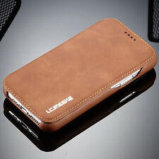 Leather Wallet Magnetic Flip Cover Card Thin Slim Case For iPhone 11 Pro Max
