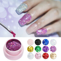 5ml UR SUGAR Gel Polish Glitter Sequins Nail Soak Off UV Gel Varnish