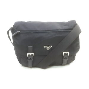 Prada Shoulder Bag  Black Nylon 1214957