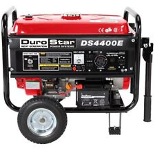 DuroStar 4400 Watt Quiet Portable Electric Start RV Gas Power Generator DS4400E